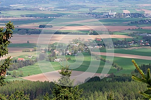 Czech countryside Stock Photos