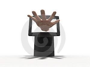 3D Billboard Render Stock Photography - Image: 3644422