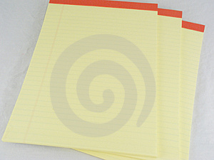 Legal Pads #2 Royalty Free Stock Photos - Image: 3647728
