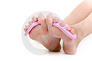 Pedicure Free Stock Photography