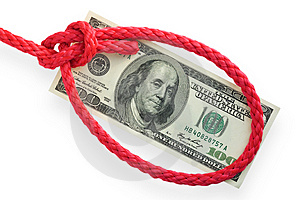 Money And Knot 03 Stock Photos - Image: 3656003