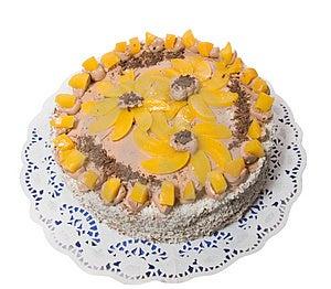 Cocoa Cream Cake Stock Photo - Image: 3656250