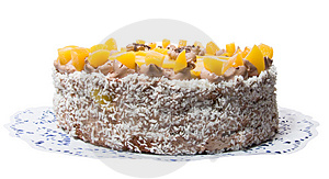 Cocoa Cream Cake 01 Royalty Free Stock Photography - Image: 3656257