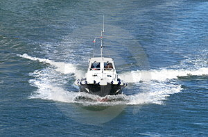 Pilot Boat Stock Photography - Image: 3657892