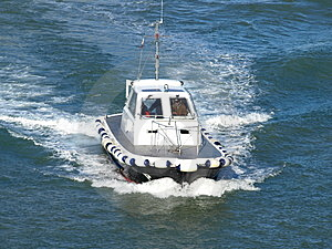 Pilot Boat Royalty Free Stock Images - Image: 3657899