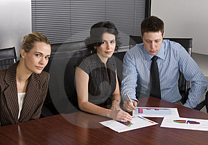 White collar environment Stock Photo
