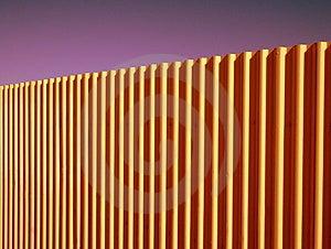 Corrugated Fence Royalty Free Stock Photos - Image: 3674878