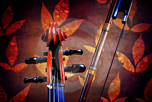 Violin Details Stock Images - Image: 3675254