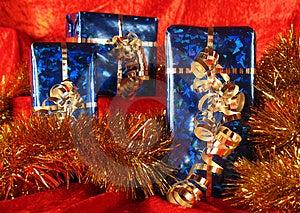 Christmas Presents Stock Photos - Image: 3677963