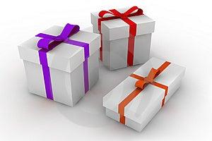 Gift boxes Free Stock Photo