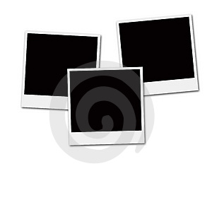 Instant Film Frames Stock Photo - Image: 3681500