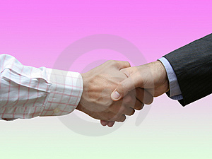 Business agreement Royalty Free Stock Photos