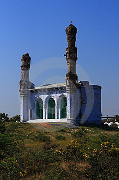 Indian Hindu Tomb Royalty Free Stock Image - Image: 3684076