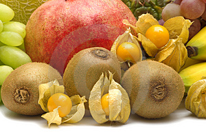 Exotic Fruits Royalty Free Stock Photography - Image: 3688277