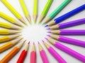 Rainbow pastel Royalty Free Stock Photos