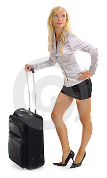 Woman and business travel