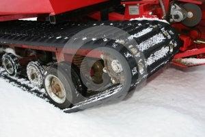 Snow Vehicle Stock Photo - Image: 370340