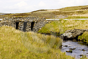 Welsh Stone Bridge Stock Images - Image: 3711664