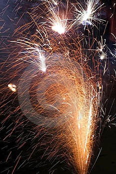 Fire Works Royalty Free Stock Photos - Image: 3712668