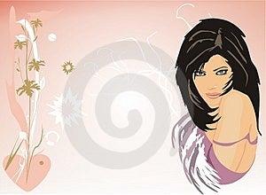Beautiful Brunette Stock Image - Image: 3714611