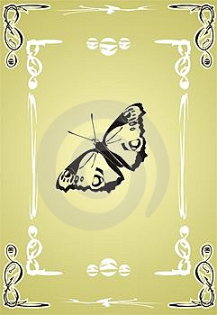 Butterfly. Creative Royalty Free Stock Images - Image: 3726389