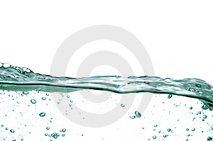 Water wave #21 Royalty Free Stock Image