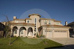 Custom Home Stock Photos - Image: 3745983