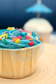 Delicious Cup Cakes Royalty Free Stock Photo