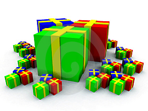 Many Presents 8 Stock Photos - Image: 3750973