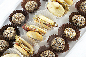 Snacks Royalty Free Stock Image - Image: 3755946