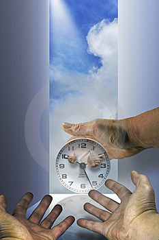 The Hands Of Time Royalty Free Stock Photo - Image: 3758935