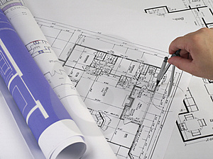 Blueprints series Stock Photos