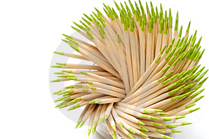 Toothpicks Stock Photos - Image: 3765293