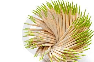 Toothpicks Stock Photos - Image: 3765293