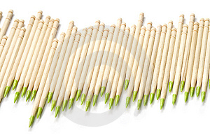 Toothpicks Diagram Royalty Free Stock Photos - Image: 3765308