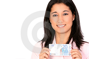 Only 20 Euros Stock Photography - Image: 3778022