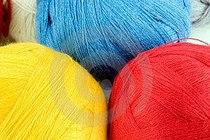 Fil Pour Le Tricotage Photographie stock - Image: 3790062