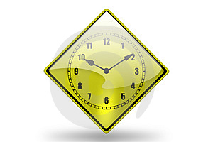 Clock Icon3 Royalty Free Stock Photography - Image: 3802387