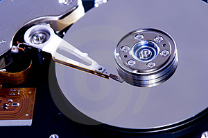 Inside Hard Disk Drive Stock Images - Image: 3802954