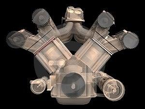 Motor Stock Image - Image: 3808051