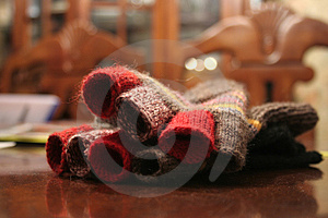 Gloves Royalty Free Stock Images - Image: 3808669