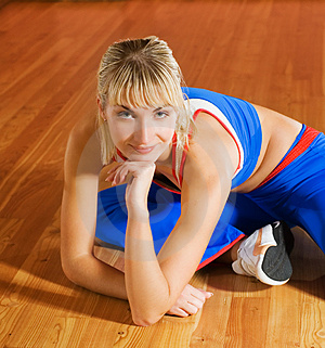 Fitness Trainer Stock Images - Image: 3816534
