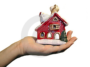 Santa House Stock Photos - Image: 3816943
