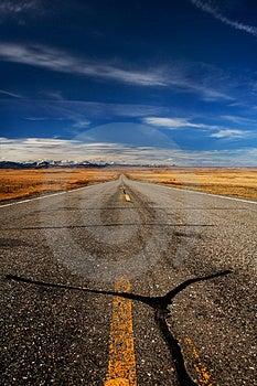 Road To Glacier Royalty Free Stock Photo - Image: 3821005