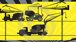 Earth Movers  Royalty Free Stock Photography - Image: 3822687
