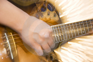 Guitar Player Royalty Free Stock Photos - Image: 3825208