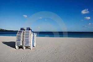 Strati della spiaggia Immagine Stock Libera da Diritti