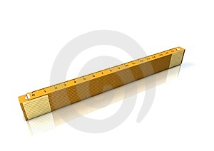 Yellow Measuring Tape Stock Photo - Image: 3825920