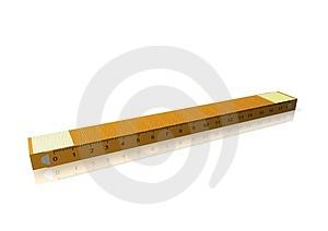Yellow Measuring Tape Royalty Free Stock Images - Image: 3825929