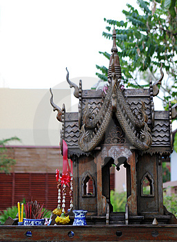 Shrine Stock Images - Image: 3829234
